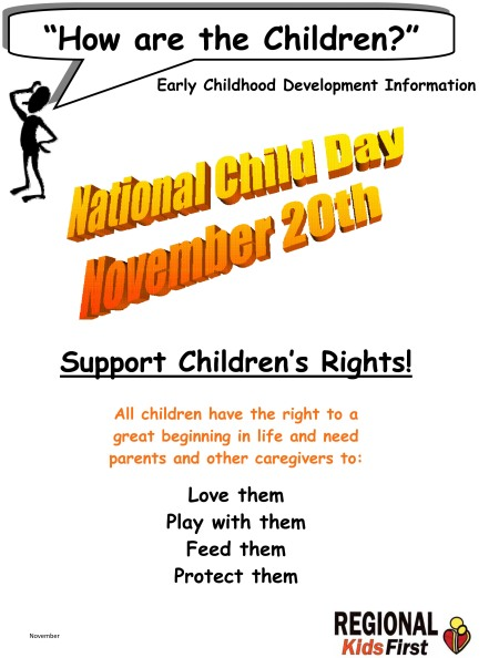 Microsoft Word - Nov 2013  How Are the Children National Child D