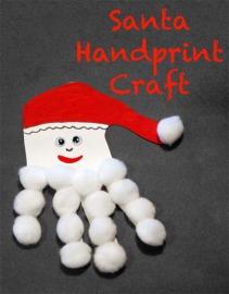 santa-handprint-craft