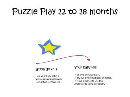 Puzzle Play 12 to 18 months