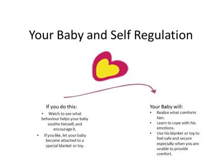 Your Baby and Self Regulation